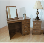 Noche Bedside Locker-3 Drawer