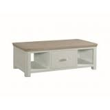 Treviso Painted Large Coffee Table with Drawer