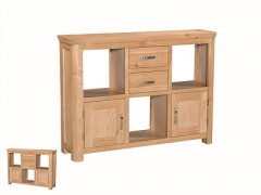 Terviso Oak Low Display Unit