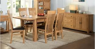 Treviso Oak 4' Extension Dining Set