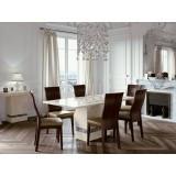 Vittoria Marble 6' dining Set