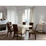 Vittoria Marble 5' Dining Set