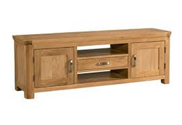 Treviso Oak Wide TV Unit