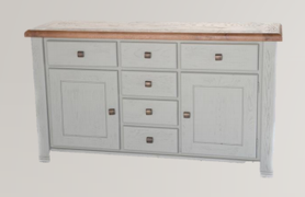 Danube French Grey Sideboard (160 cm)