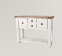 Danube White Console Table