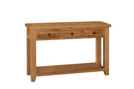 Oscar 3 Drawer Console Table