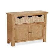 Salisbury Oak Sideboard with Baskets