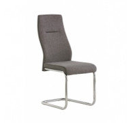 Boston Dining Chair grey fabric