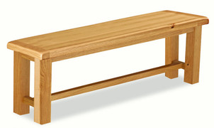 Salisbury Oak Large Bench