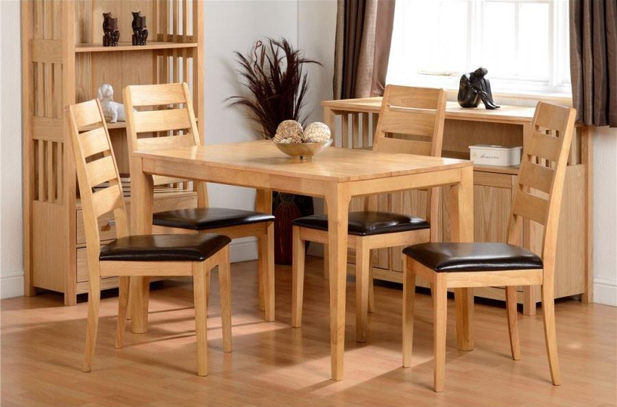 Logan 1 4 Dining Set Ideal Furniture