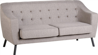 Ashley 3 Seater-Beige Fabric