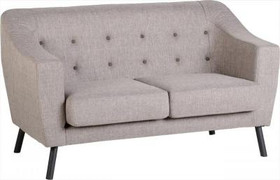 Ashley 2 Seater-Beige Fabric