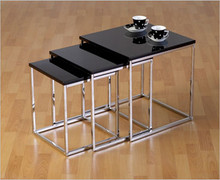 Charisma Nest of Tables- Black