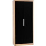Seville 2 Door Wardrobe-Black