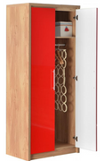 Seville 2 Door Wardrobe-Red