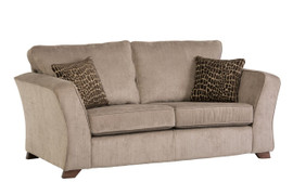 Casey Light Brown 3 Seater Sofa