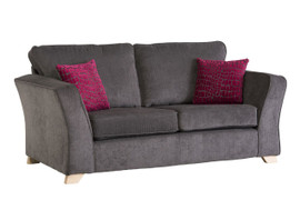 Casey Grey 3 Seater Sofa