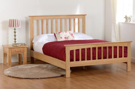 Stratford 4'6''  Bed High Foot Bed