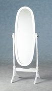 Contessa Cheval Mirror-White