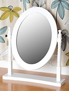 Contessa Dressing Table Mirror-White