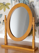 Contessa Dressing Table Mirror-Antique Pine