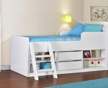 Felix Low Sleeper Bed-White