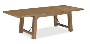 Chesapeake Oak Extending Dining Table