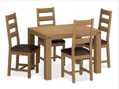 Sherwood EX Dining Table-110 cm