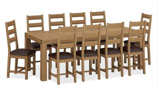 Sherwood EX Dining Table-180 cm