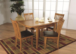 Seville Dining Table(90/130cm) and 4 Seville Chair.