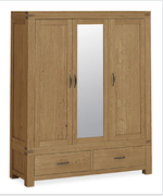 Sherwood Triple Wardrobe