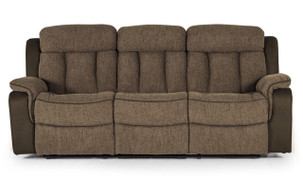 Brampton 3 Seater-Brown