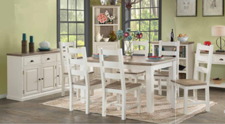 Santorini 4' Dining Set table and 4 chairs