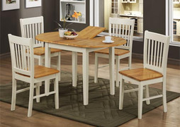 Stacy Dining Table + 4 Stacy Dining Chairs