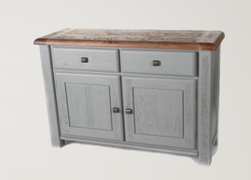 Danube French Grey Sideboard ( 135 cm)