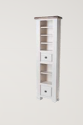 Danube White DVD Rack