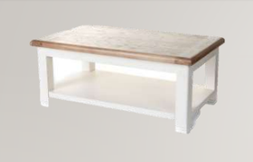 Danube White Coffee Table