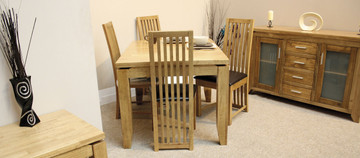 Monterey 4' fixed Dining Set