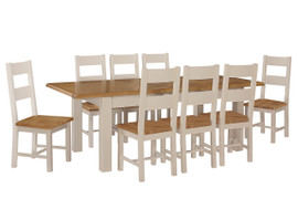 Juliet Butterfly Extension Dining Set (180/230 cm)