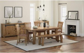 Chesapeake Oak Extending Dining Set