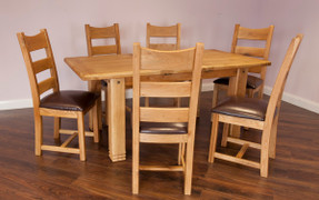 Donny 1.8m Extending Dining Set