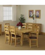 Salisbury Lite Compat Ext. Dining Set