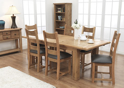 Danube Dining Chair - Cross Back