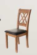 Danube Cologne Dining Chair-Faux Seat