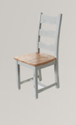 Danube French Grey Oak Dining Chair