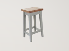 Danube French Grey Stool