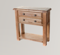 Danube Oak Console Table