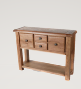 Danube Oak Hall Table
