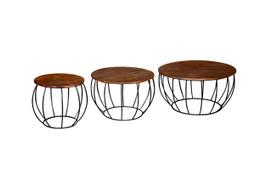 Durango Coffee Table-Set of Three