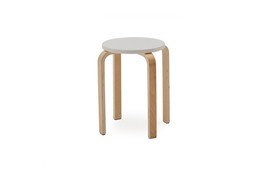 Alba Stacking Stools-White
